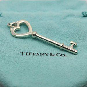 Tiffany & Co. Heart Key Pendant